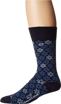 Snowflake Icon Socks