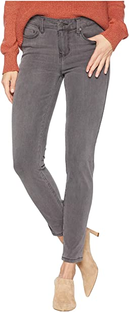 Abby Ankle Skinny with Shaping and Slimming Four-Way Stretch Denim in Titanium Wash