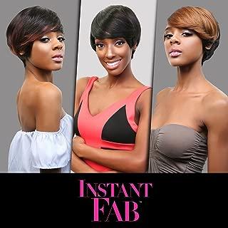 Instant Fab Remi Human Hair Wig Modern Fringe (HT1B/DBG)