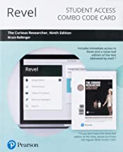 Revel for The Curious Researcher: A Guide to Writing Research Papers -- Combo Access Card (9th Edition)