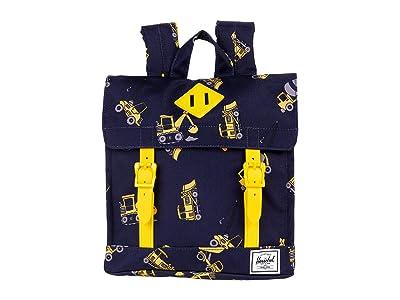 Herschel Supply Co. Kids Survey Square Backpack (Little Kids/Big Kids) (Construction Zone) Backpack Bags