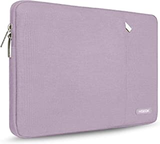 HSEOK Laptop Sleeve 15-15 6 Inch Case  Spill-Resistant Bag for 15 4-Inch MacBook Pro A1286  MacBook Pro Retina A1398 Most 15 6-Inch Lenovo Dell Toshiba Asus Acer Notebook  Purple