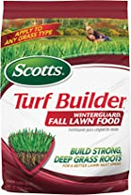 Scotts Turf Builder WinterGuard Fall Lawn Food, 12.5 lb. - Fall Lawn Fertilizer Builds Strong, Deep Grass Roots for a Bett...
