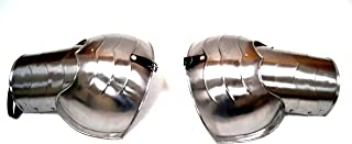 Pair Of 12 Inch Pauldrons - Shoulder Armor - Fully Wearable