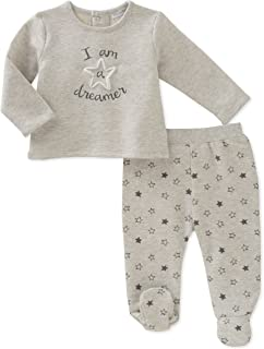 absorba Baby Boys' Footed Pant Set
