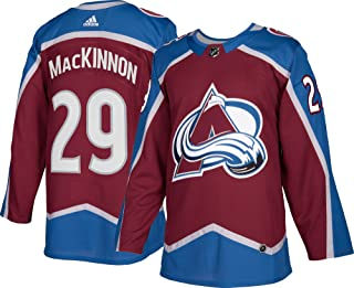adidas Nathan MacKinnon Colorado Avalanche Authentic Home NHL Hockey Jersey