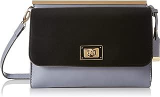 Van Heusen Women's Sling Bag (Black/Lt Grey)