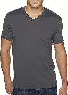 Next Level Men's Sueded Baby Rib Soft V-Neck T-Shirt