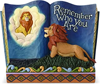 Enesco Disney Traditions by Jim Shore Storybook Lion King Figurine, 5.7 Inch, Multicolor