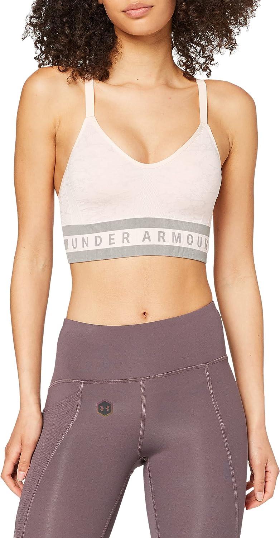 Latest item Under Armour Womens Vanish Seamless Sports Longline store Bra Jacquard