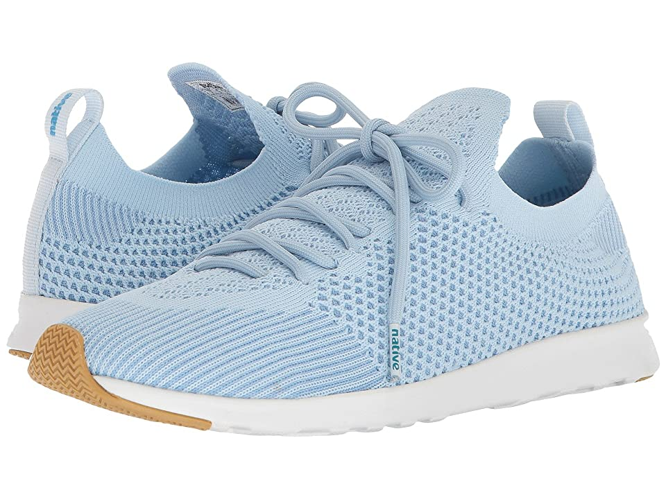 Native Shoes AP Mercury Liteknit (Air Blue/Shell White/Natural Rubber) Athletic Shoes