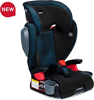 Britax USA Highpoint 2-Stage Belt-Positioning Booster Cool Flow Ventilating Fabric Car Seat - Highback and Backless - 3 Layer Impact Protection - 40 to 120 Pounds, Teal