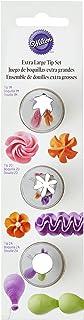 Wilton 418-1704 Lot de Douilles de Glaçage, Extra-Larges, 3 pièces, Multicolore