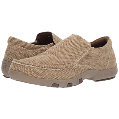 Roper Johnnie (Tan Woven Canvas) Men