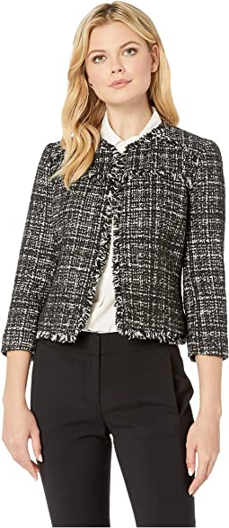 Tweed Kiss Front Jacket