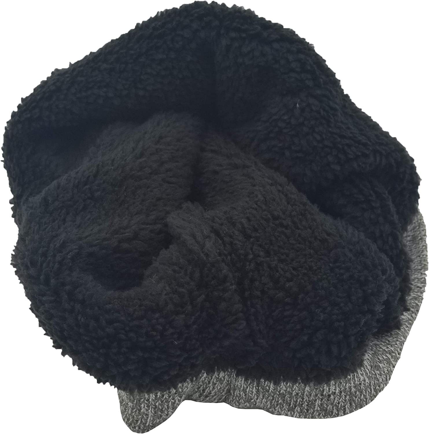 Thermal Neck Warmer, Winter Fleece Lined Interior Cold Weather Scarf Wrap, Mens Womens Unisex