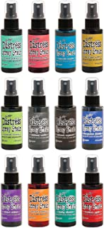 Ranger - 12 Color of the Month 2015 - Tim Holtz - Distress Spray Stain Bundle