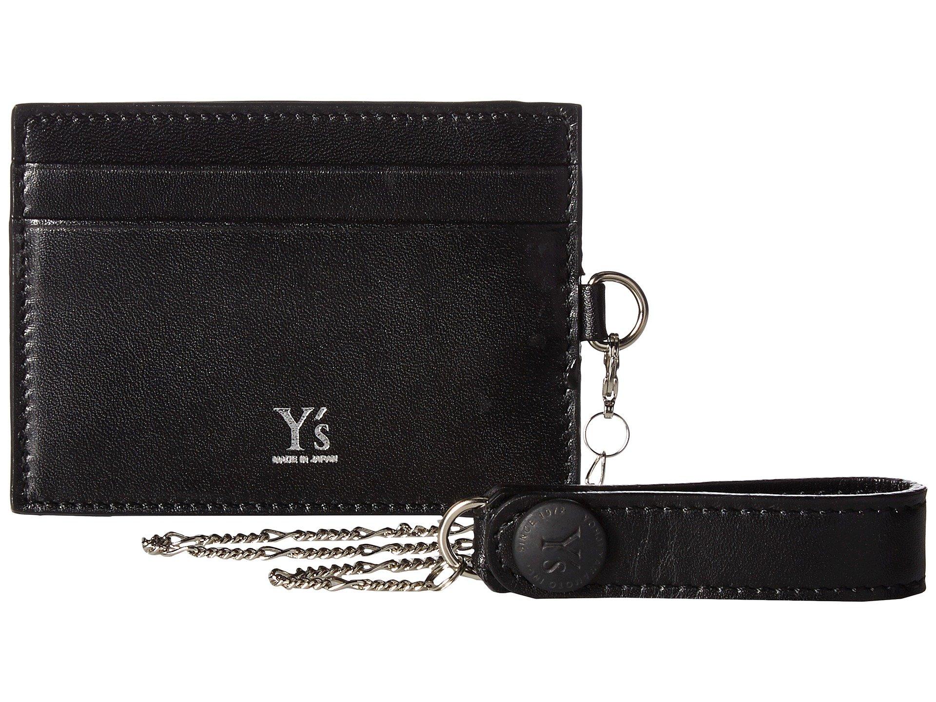 Monedero para Mujer Yand#39;s by Yohji Yamamoto Card Case w/ Chain Strap  +
