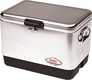 corona coleman stainless steel insulated cooler