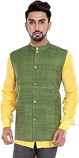 142dbeb52 Amazon.in: Linen - Nehru Jackets / Ethnic Wear: Clothing & Accessories