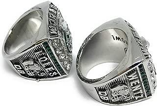 FanzRing 2017-2018 Philadelphia Eagles Super Bowl Championship Ring Wentz Foles Set Champion Ring (11)