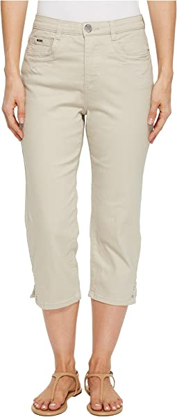 FDJ French Dressing Jeans Sunset Hues Suzanne Capris in Stone