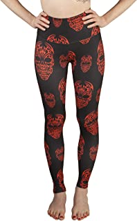 "Solid Color and Printed Leggings for Women – 5"" High Waist–Ultra Soft Brushed Active Pants"