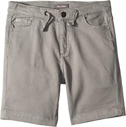 Jax Knit Shorts in Silver Bullet (Big Kids)