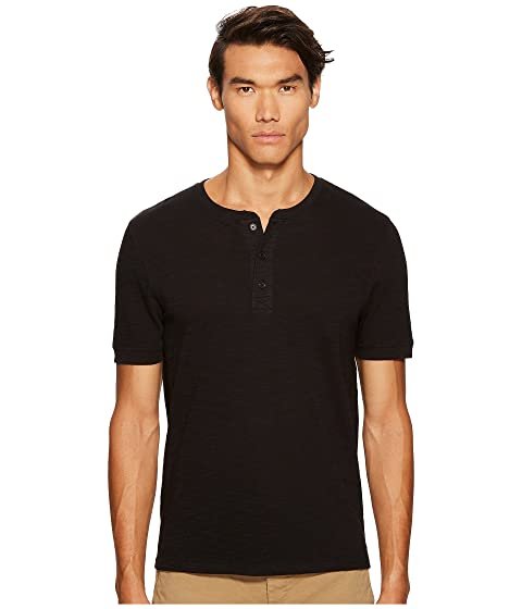 Vince Classic Short Sleeve Henley