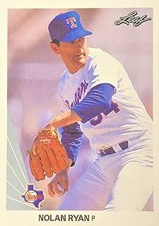 1990 Leaf NOLAN RYAN Baseball Card #21