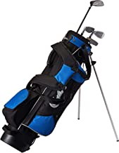 Confidence Junior Golf Club Set with Stand Bag (Renewed)