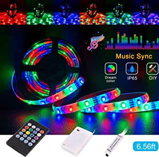 Best battery powered led light strips with remote Reviews