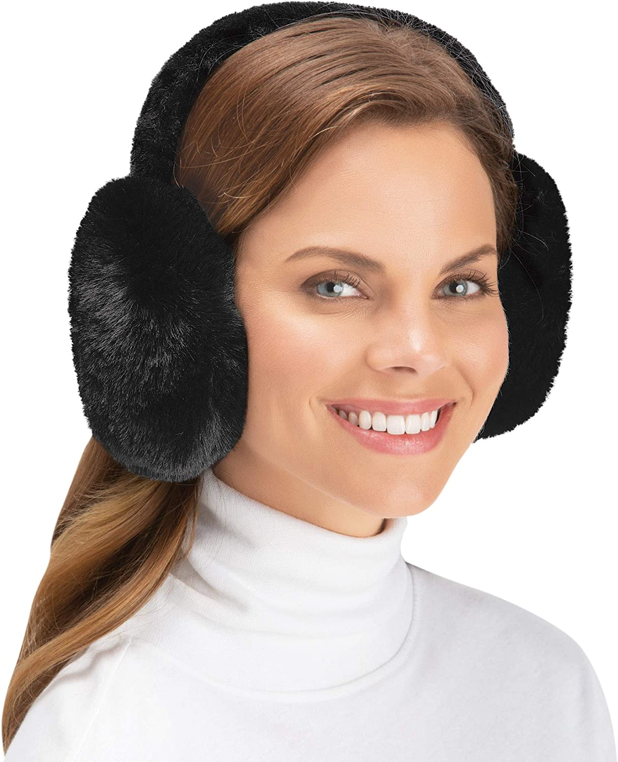 Plush Faux Inventory cleanup selling sale Fur Ear Muffs - Essentials Cozy Winter Regular store