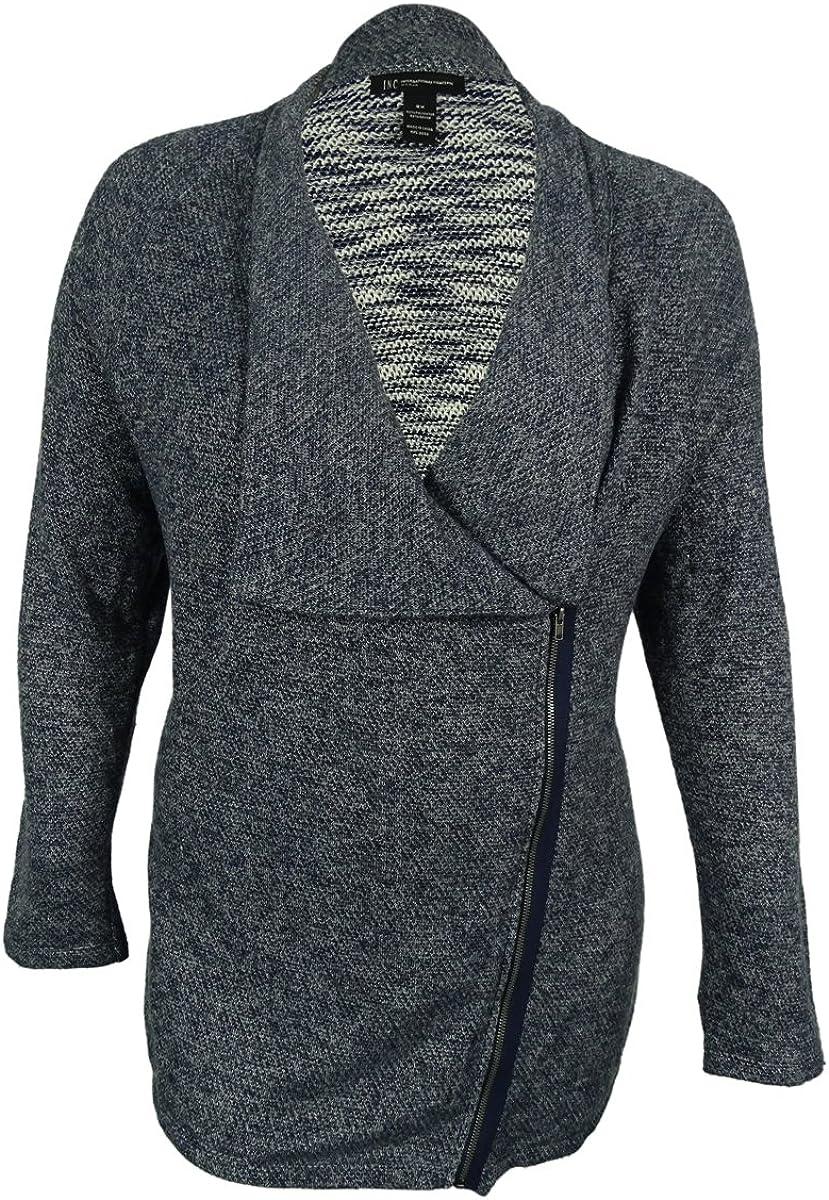 INC International Concepts Women's Zip-Front Cardigan