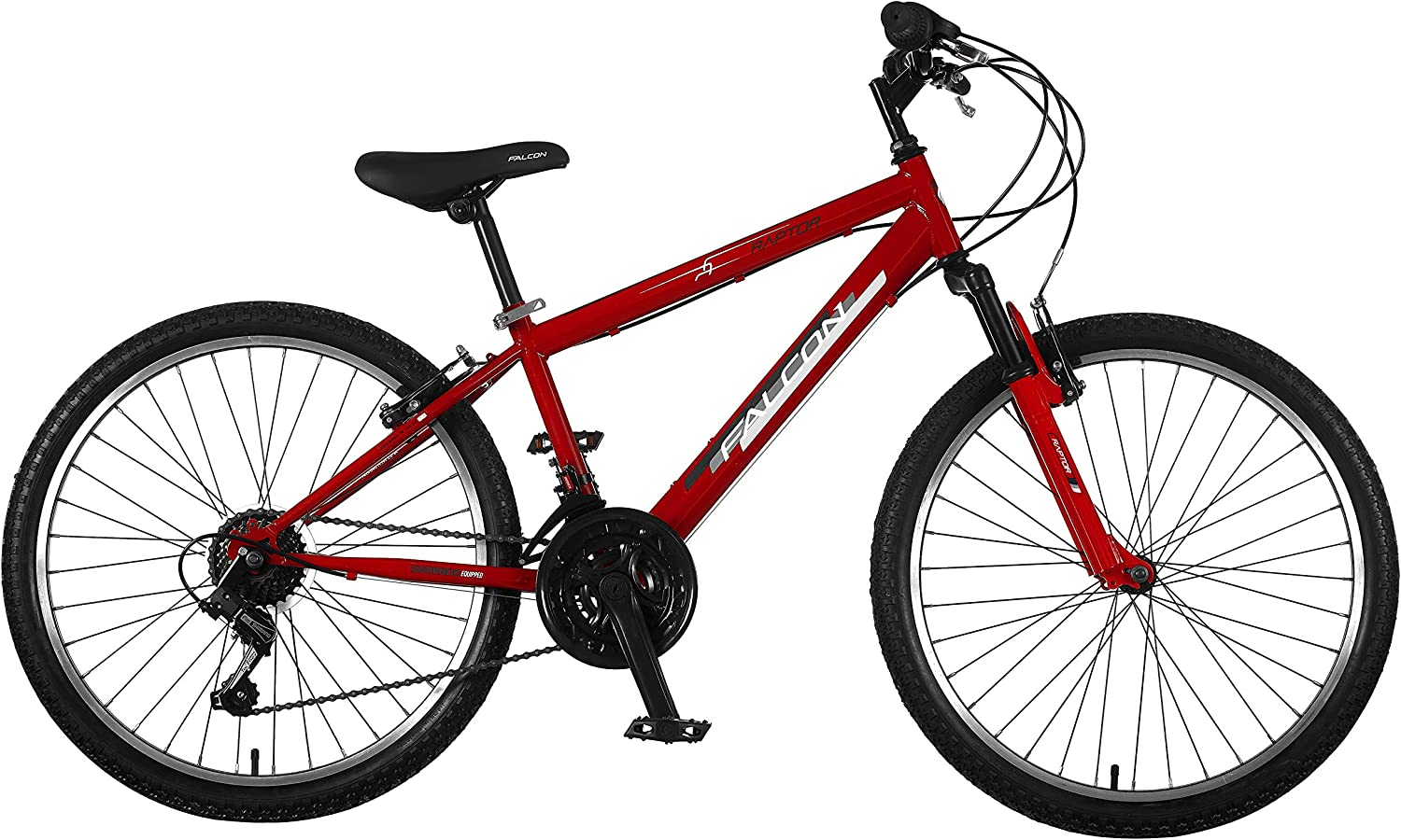Falcon Boys' F3241003 Raptor B24, Red Black, 24''