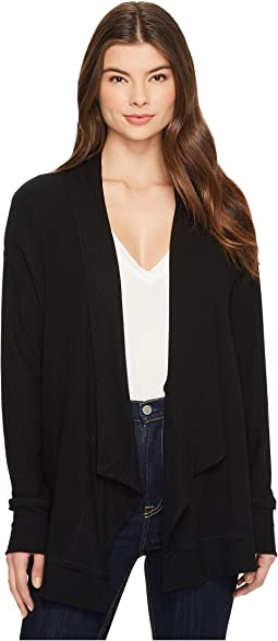 Michael Stars Super Soft Madison Long Sleeve Open Cardigan