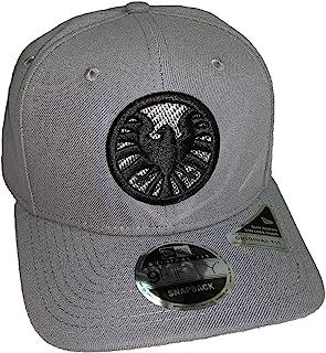 9e7e4ad5351815 Captain Marvel Movie SHIELD New Era 9Fifty Storm Gray Snapback Cap Hat