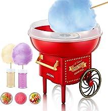 AICOOK Machine à Barbe à Papa, 500W Cotton Candy Maker Appareil pour Maison, Fêtes, Festivals ,Fete Foraine et Anniversair...