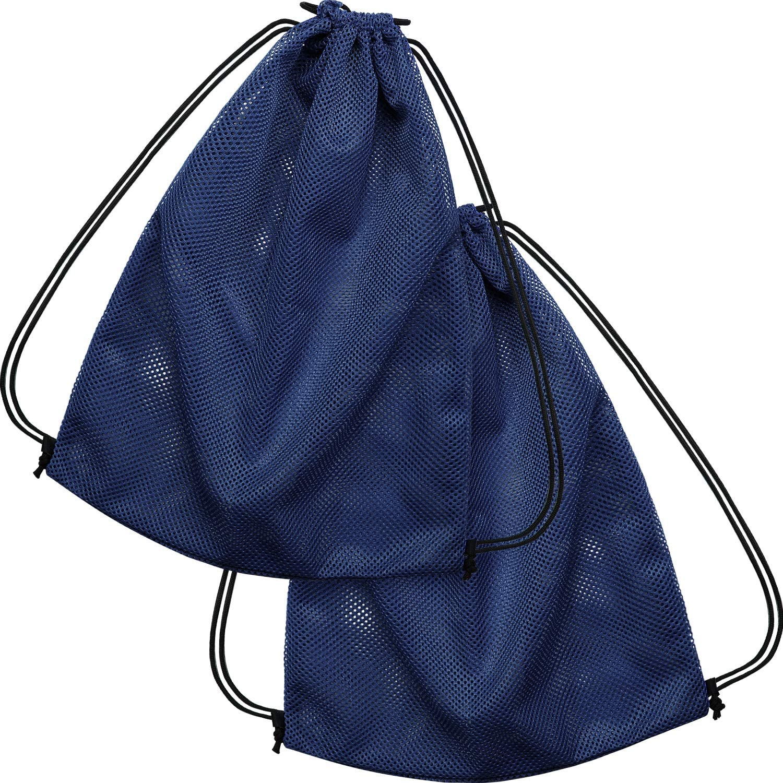 Gym Clothes Mesh Drawstring Backpack Bag Multifunction Mesh Bag for Swimming