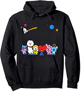 Tee-BT21-BTS+ CUTE CHIBI T-Shirt For Mens Women Kids Pullover Hoodie