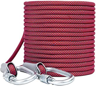 MEI XU Climbing Rope Aerial Work Rope Wear-Resistant Air Conditioning Installation Safety Rope High-Rise Exterior Wall Saf...