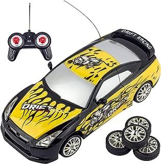 tokyo drift yellow car