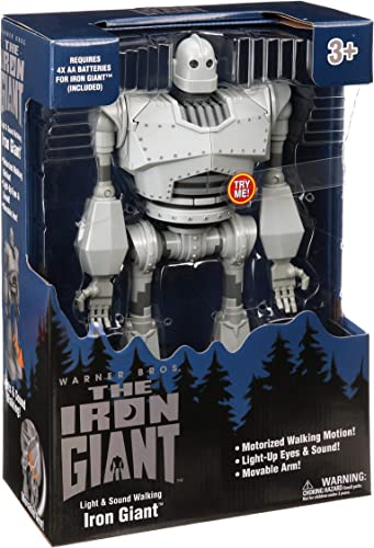 new arrival The Iron Giant Warner Bros 14-inch Light wholesale and Sound Motorized Walking new arrival Iron Giant outlet online sale