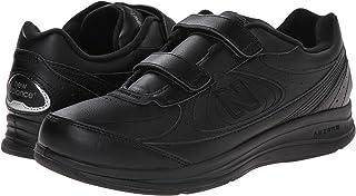 (ニューバランス) New Balance メンズウォーキングシューズ?靴 MW577 Hook-and-Loop Black 7 (25cm) 4E - Extra Wide