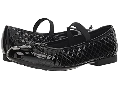 Geox Kids Plie 48 (Big Kid) (Black) Girl