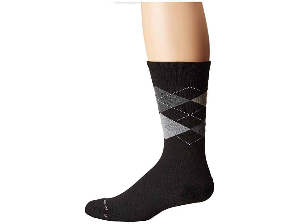 Feetures - Feetures Argyle Cushion Crew Sock