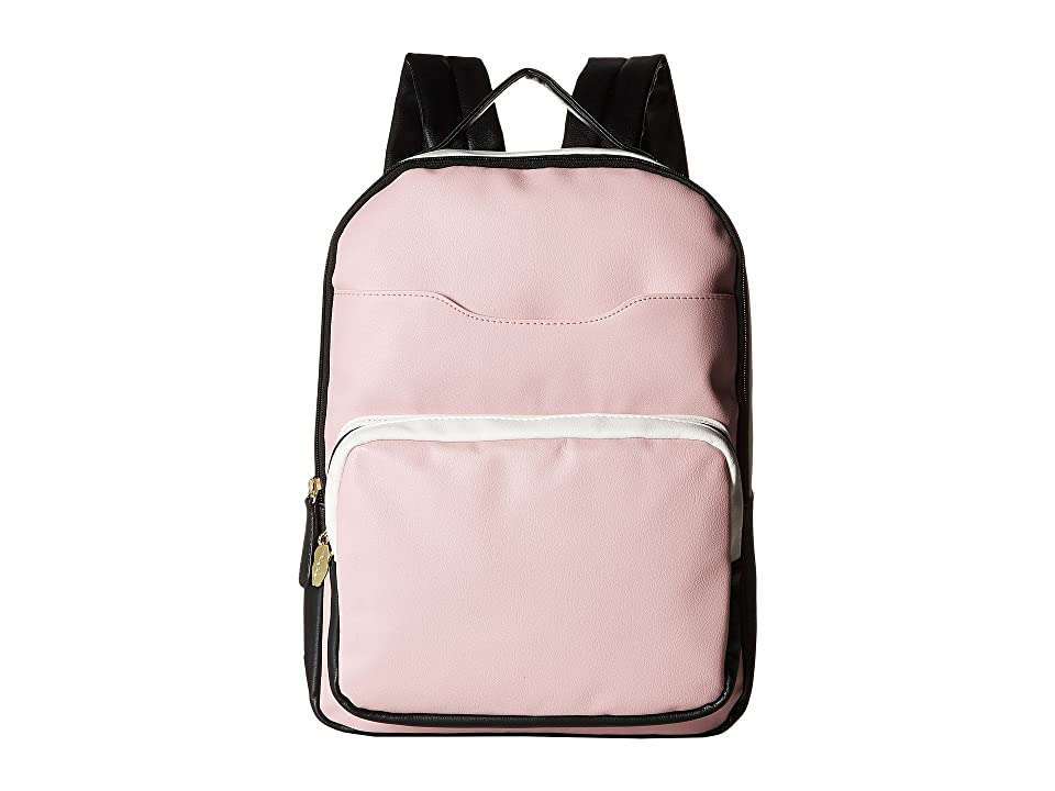 Luv Betsey Phoebe Kitch Large Backpack with Removable Wristlet (Blush) Backpack Bags