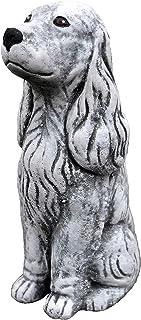 Extérieur Jardin Statue Braque de Weimar Sculpture Grand Résine contenu Labrador Chien Art
