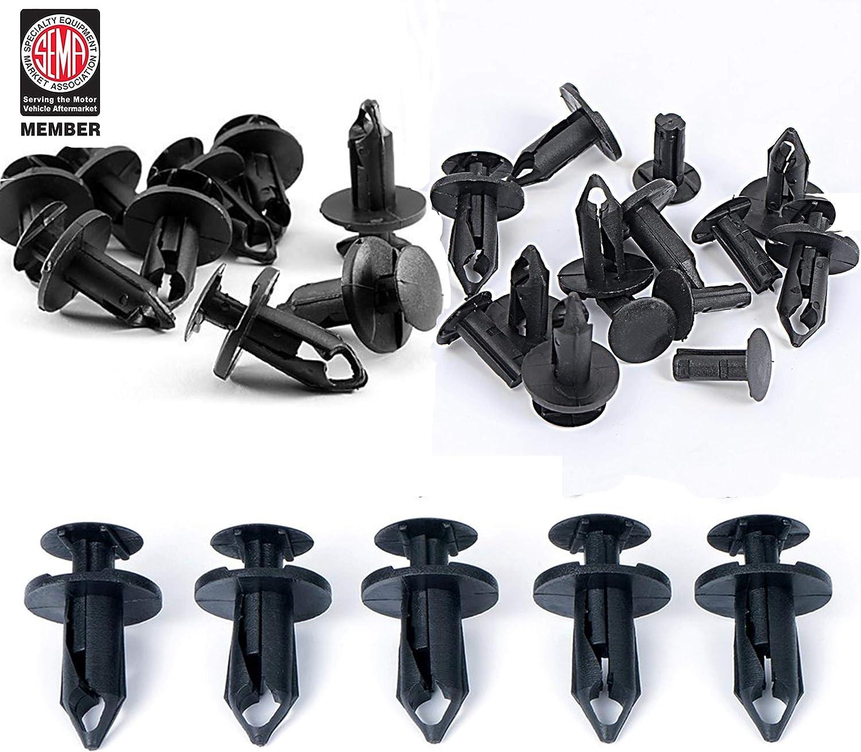 Sale u-Box 30pcs Grill Grille Push Clips Pin 5 ☆ very popular Rivet Retainer Fastener