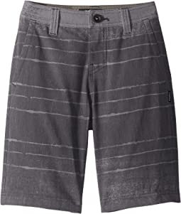 Tye Striper Hybrid Boardshorts (Big Kids)